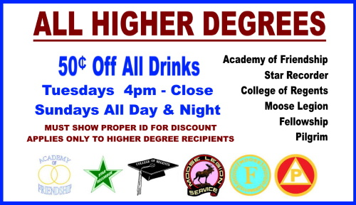 Higher Degree Discount